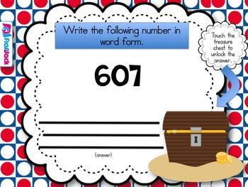 Place Value Pirates Smart Board Game (CCSS.2.NBT.B.5)