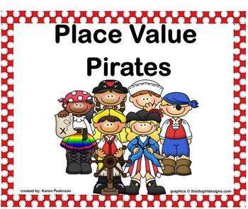 Place Value Pirates SmartBoard Activity Common Core