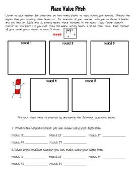 Place Value Pitch
