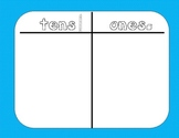 Place Value Placemats {FREE}