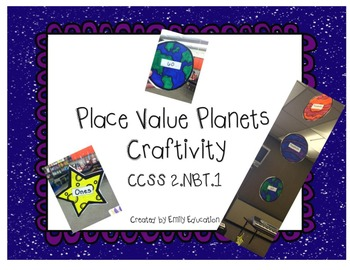 Place Value Planets Math Craftivity Common Core Aligned