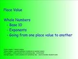 Place Value Plus - Common Core Standards