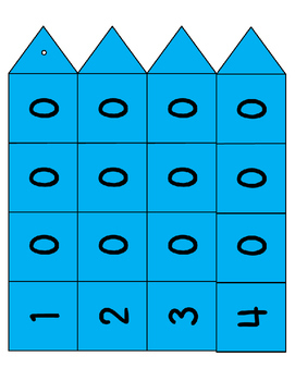 Place Value Colored Center Activity for Expansion of Numbers