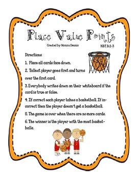 Place Value Points