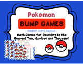 Pokemon Place Value! Bump Games Rounding to the Nearest 10