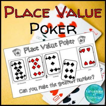 Place Value Poker Game