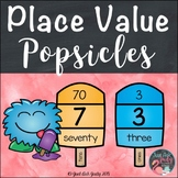 Place Value Popsicles Two-Digit Numbers
