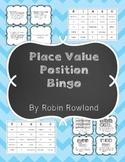 Place Value Position Bingo