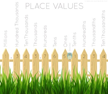 Place Value Poster & Center