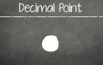 Chalkboard Place Value Posters (including fractions and decimals)