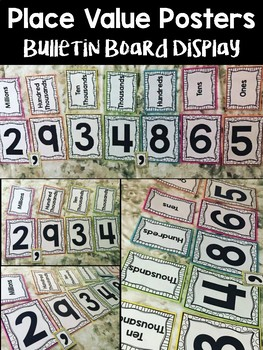 Place Value Posters - Bulletin Board Display