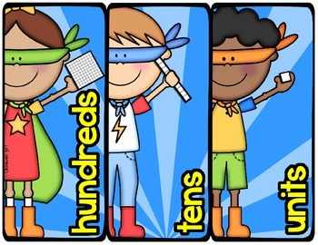 Place Value Posters - Free Sample