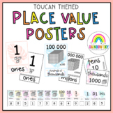 Place Value Posters / Interactive Place Value Chart {Toucan Theme}