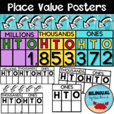Place Value Posters K-5th   BIG Posters