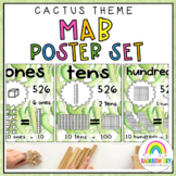 Place Value Posters / MAB Posters {Cactus & Succulent theme}