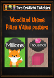 Place Value Posters - Woodland Theme