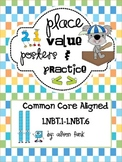 Place Value Printable Posters and Practice For First Grade