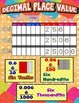 Place Value Posters/Anchor Charts with Cards & Worksheets {Bundle}
