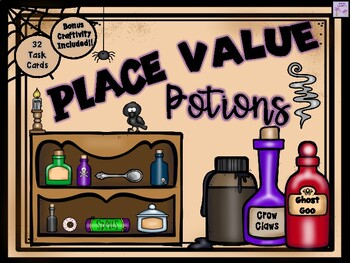 Place Value Potions (Halloween)