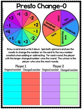 Place Value Power:  2 Activities to Deepen Large Number Understanding
