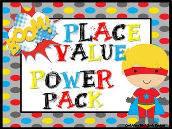 Place Value Power Pack- Common Core Aligned