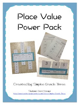 Place Value Power Pack