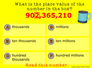 Place Value Power Point with Word Problems