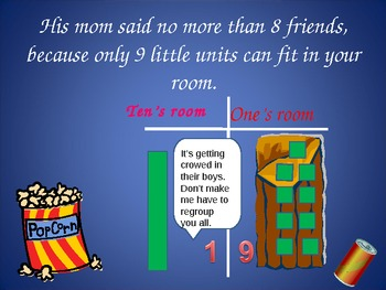 Place Value Power Point Lesson Story