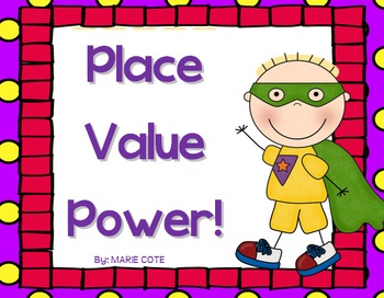 Place Value Power: Posters and Center activities