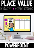 Place Value | PowerPoint | Distance Learning