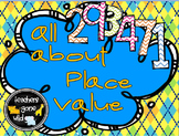 Place Value PowerPoint, Note Taker, Practice Handout