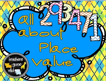 Place Value PowerPoint, Note Taker, Practice Handout