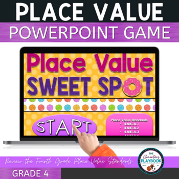 Place Value Game A Powerpoint Review 4th Grade By The Playbook