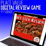 Place Value Review Game - Hot Stew Review