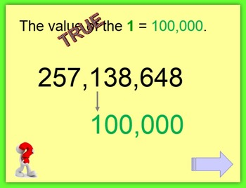 Place Value PowerPoint:  nine digits