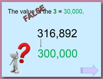 Place Value PowerPoint:  six digits