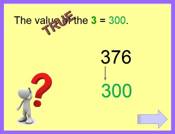 Place Value PowerPoint:  three digits