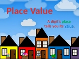 Place Value Powerpoint 4.NBT.1, 4.NBT.2 (editable)