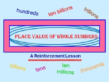Place Value Powerpoint FREE Preview