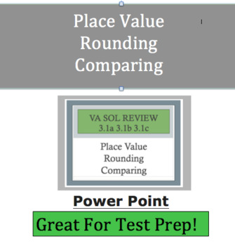Place Value Powerpoint Increased Rigor  -VA SOL 3.1a-c & Common Core