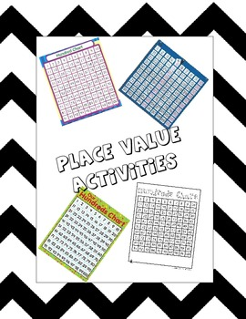 Place Value Practice 1 to 120