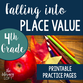 Place Value Practice {4th Grade}