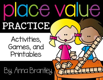 Place Value Practice: Activities, Games, and Printables