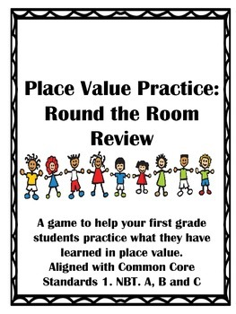 Place Value Practice: Around the Room Review