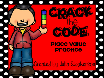 Place Value Practice- Crack the Code