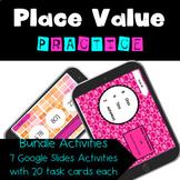 Place Value Practice- Distance Learning Google Slides
