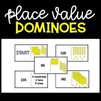 Place Value Practice Dominoes
