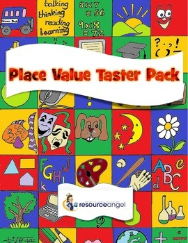 Place Value Practice - Free Taster Pack - differentiated M