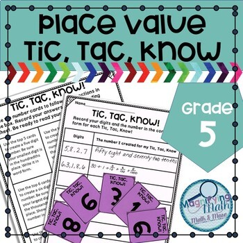 Place Value Practice Grade 5