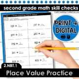 Place Value Practice: Hundreds, Tens, and Ones | Second Grade Math 2.NBT.1
